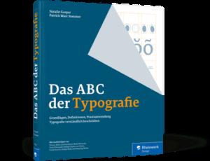 """Buchumschlag """"Das ABC der Typografie"""""""
